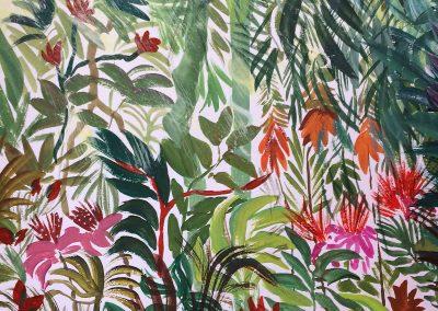 Foliage painting
